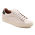 Paul Smith Men's Basso Leather Court Trainers - Quiet White: Image 2
