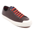 PS by Paul Smith Men's Colston Leather Court Trainers - Dark Grey Washed: Image 2