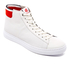 PS by Paul Smith Men's Shima Hi-Top Trainers - White Mono: Image 2