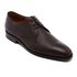PS by Paul Smith Men's Leo Leather Plain Derby Shoes - Dark Brown: Image 2