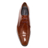 PS by Paul Smith Men's Robin Leather Toe Cap Derby Shoes - Tan High Shine: Image 3