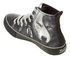 Spiral Men's Wolf Chi High Top Lace Up Sneakers - Black: Image 4
