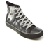 Spiral Men's Wolf Chi High Top Lace Up Sneakers - Black: Image 2