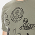 Vivienne Westwood Anglomania Men's Classic T-Shirt - Military Green: Image 5