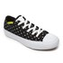 Converse Women's Chuck Taylor All Star II Ox Trainers - Black/White: Image 2