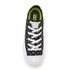 Converse Women's Chuck Taylor All Star II Ox Trainers - Black/White: Image 3
