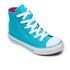 Converse Kids' Chuck Taylor All Star Hi-Top Trainers - Fresh Cyan/Magenta Glow/White: Image 2