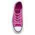 Converse Women's Chuck Taylor All Star Ox Trainers - Magenta Glow/Black/White: Image 3