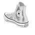 Converse Women's Chuck Taylor All Star Hi-Top Trainers - Silver/Black/White: Image 4