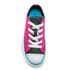 Converse Kids' Chuck Taylor All Star Double Tongue Ox Trainers - Magenta Glow: Image 3