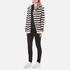 Maison Scotch Women's Home Alone Double Hooded Sweatshirt with Zip Closure - Combo B: Image 4
