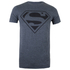 DC Comics Men's Superman Mono T-Shirt - Dark Heather: Image 1