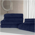 Highams 100% Egyptian Cotton 7 Piece Towel Bale (500gsm) - Blue: Image 1