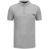 Dissident Men's Dunraven Polo Shirt - Light Grey Marl: Image 1