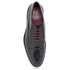 Ted Baker Men's Aokii Burnished Leather Toe Cap Derby Shoes - Black: Image 3