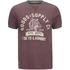 Tokyo Laundry Men's Tiger Lake T-Shirt - Bordeux Marl: Image 1