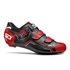 Sidi Level Cycling Shoes - Black/Red/White: Image 1