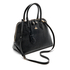 Vivienne Westwood Women's Balmoral Grain Leather Zip Around Tote Bag - Black: Image 3