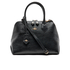 Vivienne Westwood Women's Balmoral Grain Leather Zip Around Tote Bag - Black: Image 1