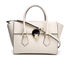 Vivienne Westwood Women's Opio Saffiano Leather Handbag - Beige: Image 1