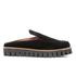 Ganni Women's Mimi Velvet Shoes - Black: Image 1