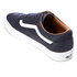 Vans Men's Old Skool Premium Leather Trainers - Parisian Night/True White: Image 4
