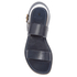 Hudson London Women's Maiara Leather Two Part Sandals - Navy: Image 3