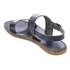 Hudson London Women's Maiara Leather Two Part Sandals - Navy: Image 4