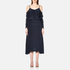 Gestuz Women's Jeannine Strap Silk Dress - Navy: Image 1