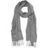 Barbour Plain Lambswool Scarf - Light Grey: Image 1