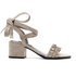 Senso Women's Juno Suede Frill Heeled Sandals - Dove: Image 1