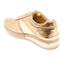 MICHAEL MICHAEL KORS Women's Allie Plate Wrap Leather Trainers - Pale Gold: Image 4