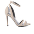 Kendall + Kylie Women's Goldie Suede Heeled Sandals - Sand/Clear: Image 1