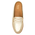 Bass Weejuns Women's Penny Slide Leather Loafers - Gold Textured: Image 3