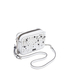 Karl Lagerfeld Women's K/Rocky Studs Small Cross Body Bag - White: Image 4