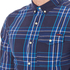Superdry Men's Washbasket Long Sleeve Button Down Shirt - Tylers Check Navy: Image 5
