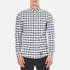 Superdry Men's Ultimate Pinpoint Long Sleeve Oxford Shirt - Kings Grey Check: Image 1