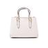 Guess Women's Isabeau Mini Box Satchel - White: Image 5