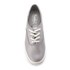 Keds Women's Champion Metallic Canvas Plimsoll Trainers - Silver: Image 3
