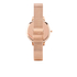 Olivia Burton Women's Poppy Flower Rose Gold Mesh Watch - Rose Gold: Image 2