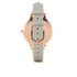 Olivia Burton Women's Big Dial Grey and Rose Gold Watch - Rose Gold: Image 2