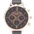 Olivia Burton Women's Big Dial Chrono Watch - Black: Image 3