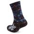 PBK Race High Cuff Socks - Ocean Blue: Image 2