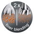 Braun MQ9087X MultiQuick 9 Hand Blender - Black: Image 2