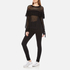 Wildfox Women's Mirage Sweatshirt - Clean Black: Image 4