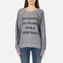 Wildfox Women's Daytime Napper Sommers Sweatshirt - Burnout Heather: Image 1