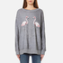 Wildfox Women's Two Flamingos Roadtrip Sweatshirt - Heather Grey: Image 1