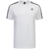 adidas Men's Essential 3 Stripe T-Shirt - White: Image 1