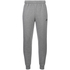 adidas Men's Essential Logo Cuffed Fleece Sweatpants - Grey: Image 1