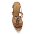 MICHAEL MICHAEL KORS Women's Darien Wedged Sandals - Cashew: Image 3